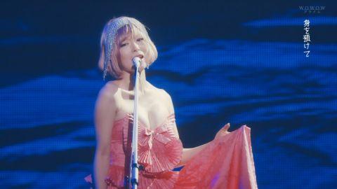 椎名林檎、ライブでおっぱい放り出す!歌より胸が気になってしかたないわ・・・