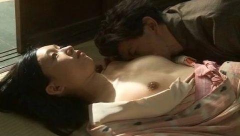 江口のりこ乳首ヌード濡れ場おっぱいエロ画像02「戦争と一人の女」